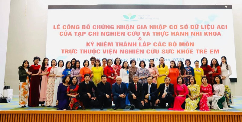 Tạp chí Nghiên cứu và Thực hành Nhi khoa chính thức gia nhập cơ sở dữ liệu ASEAN - ACI -0