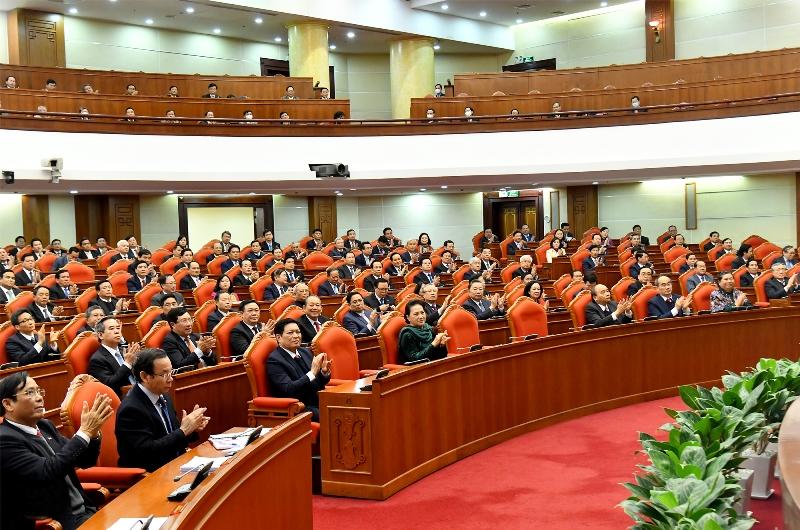 Bế mạc Hội nghị lần thứ 14 Ban Chấp hành T.Ư Đảng khóa XII -0