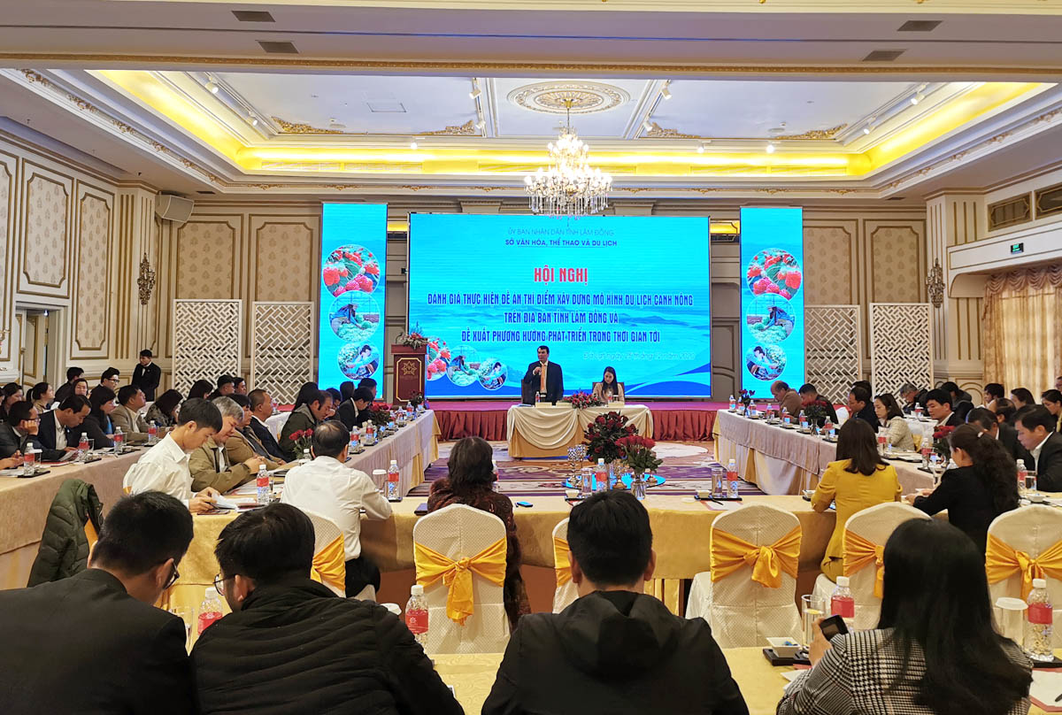 Lâm Đồng xây dựng bộ tiêu chí mới về công nhận điểm du lịch canh nông -0