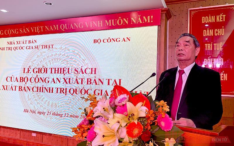 Giới thiệu sách của Bộ Công an tại NXB Chính trị quốc gia Sự thật -0