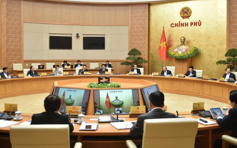 Chính phủ họp phiên thường kỳ tháng 12 -0