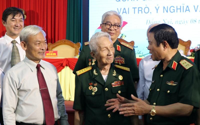 Hội thảo khoa học về Quân Giải phóng miền Nam Việt Nam -0