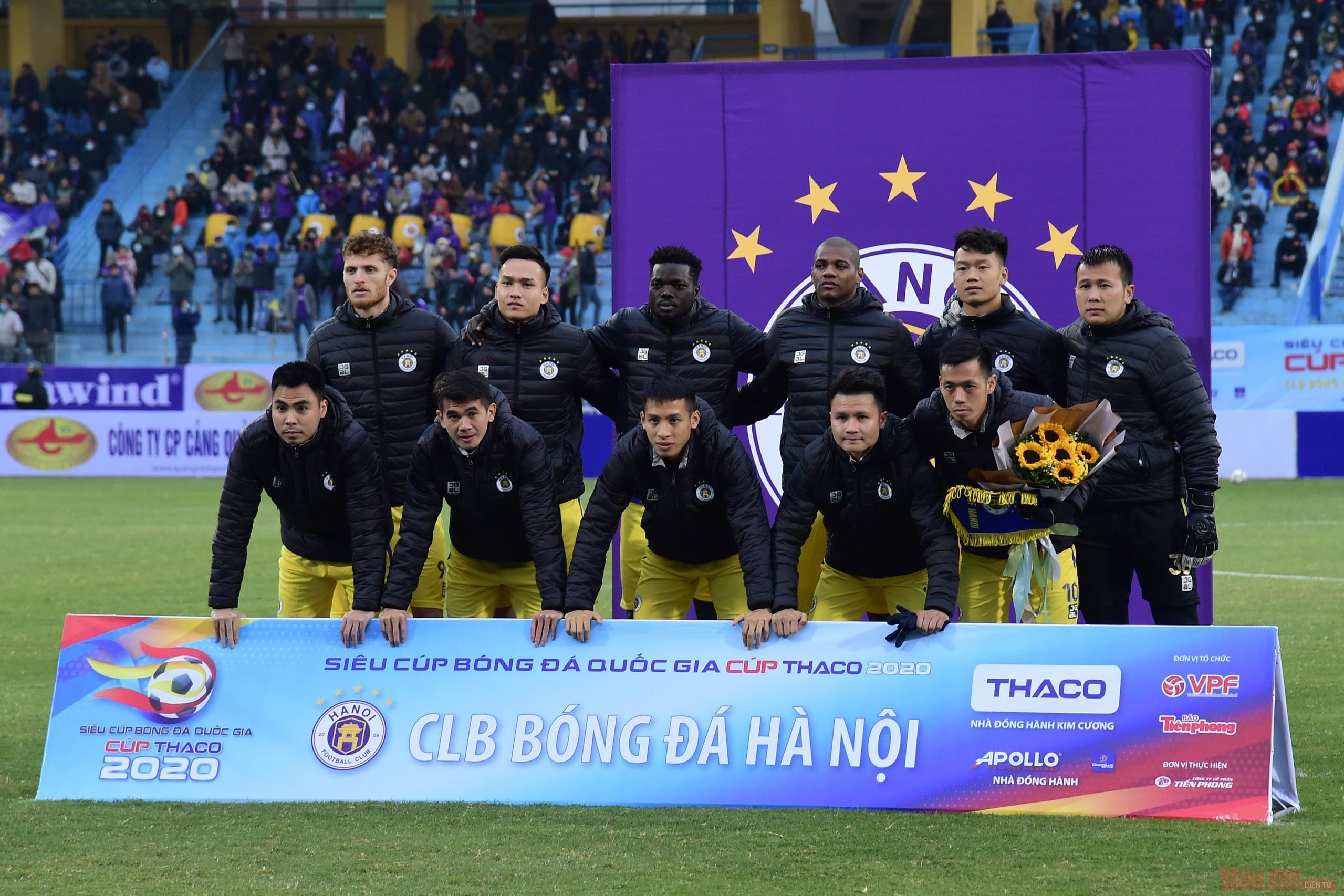 Hà Nội giành Siêu cúp Quốc gia 2020  -0