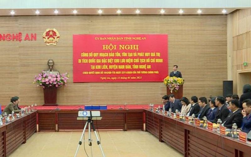 Công bố Quy hoạch bảo tồn, tôn tạo và phát huy giá trị Di tích Quốc gia đặc biệt Khu lưu niệm Chủ tịch Hồ Chí Minh -0