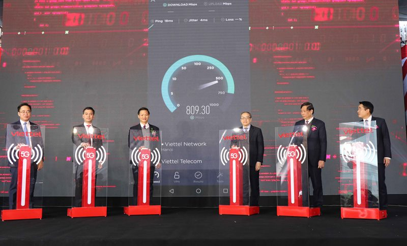 Triển khai mạng 5G đầu tiên trong khu công nghiệp -0