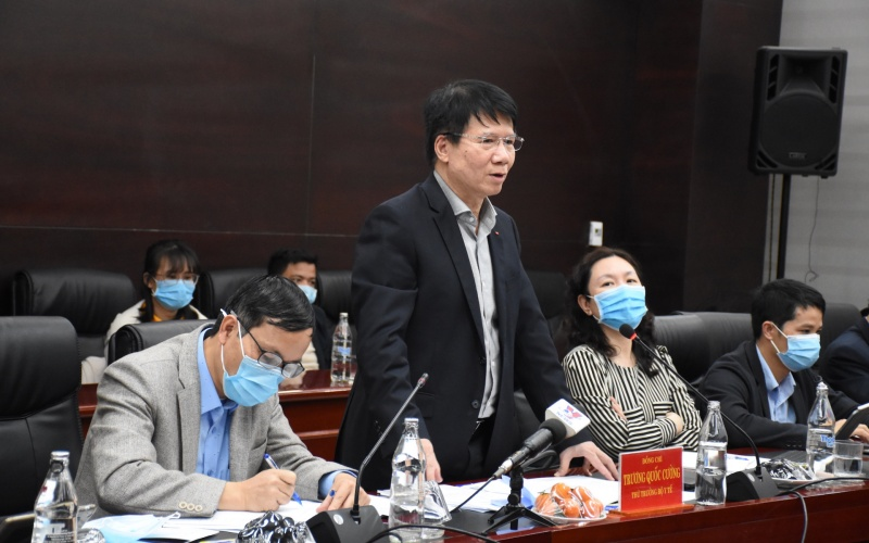 Đoàn công tác Bộ Y tế kiểm tra công tác phòng, chống dịch Covid-19 tại Đà Nẵng -0