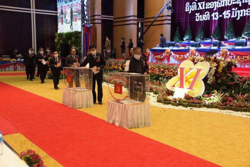 Đại hội Đảng NDCM Lào bầu Ban Chấp hành T.Ư khóa XI -0