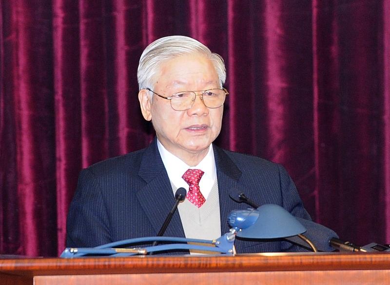 Khai mạc trọng thể Hội nghị lần thứ 15 Ban Chấp hành T.Ư Đảng khóa XII -0