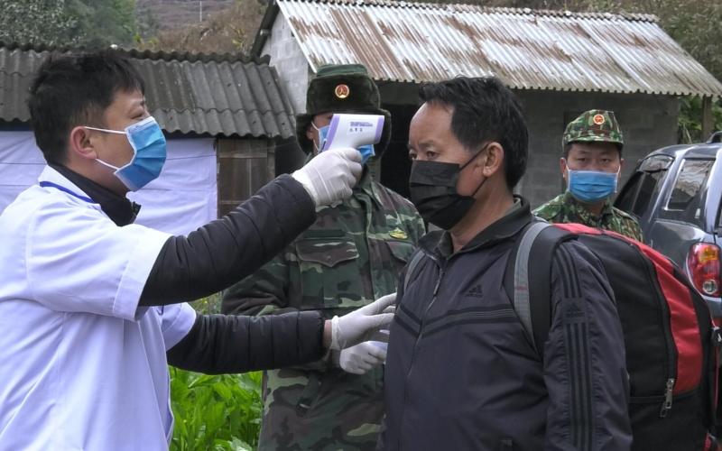 Bắt giữ 35 đối tượng nhập cảnh trái phép ở Lào Cai -0