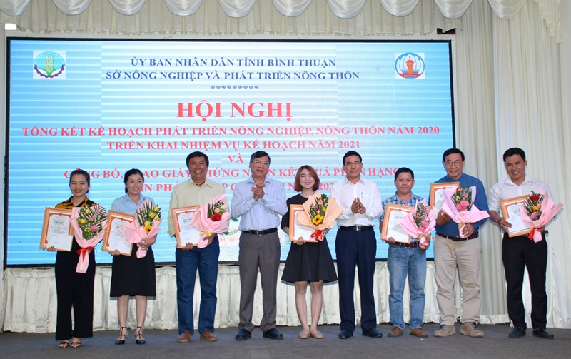 Bình Thuận công bố 56 sản phẩm được chứng nhận sản phẩm OCOP -0