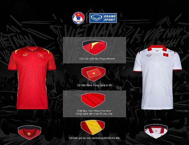 Công bố trang phục ĐT Việt Nam phiên bản năm 2021  -0