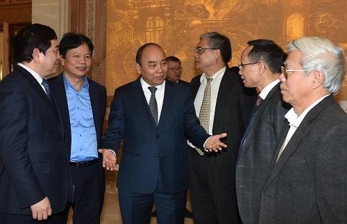 Thủ tướng chủ trì họp Hội đồng Tư vấn chính sách tài chính, tiền tệ quốc gia và Tổ Tư vấn kinh tế -0