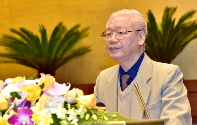 Tổng Bí thư, Chủ tịch nước Nguyễn Phú Trọng: Tổ chức bầu cử đại biểu Quốc hội và đại biểu HĐND các cấp đạt kết quả cao nhất, trở thành ngày hội của toàn dân -0