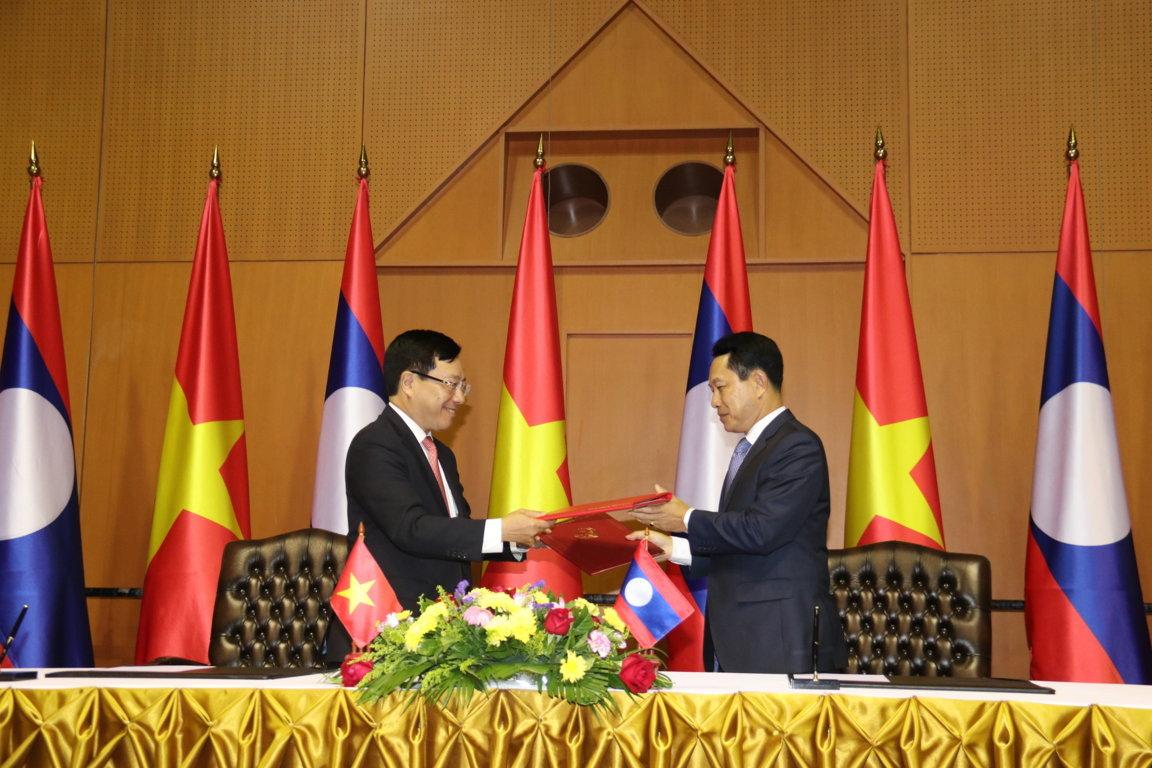 Mối quan hệ mẫu mực, hiếm có giữa Việt Nam và Lào -0