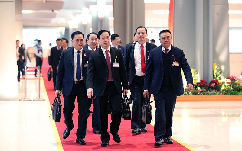 Khai mạc Đại hội lần thứ XIII của Đảng -0