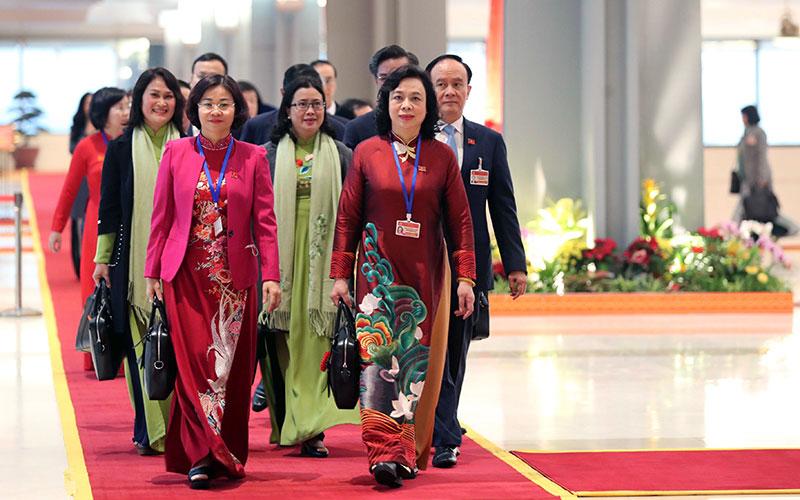 Khai mạc Đại hội lần thứ XIII của Đảng -1