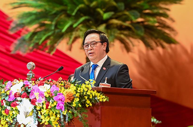 Đại hội XIII của Đảng tổ chức phiên tham luận tại hội trường -0
