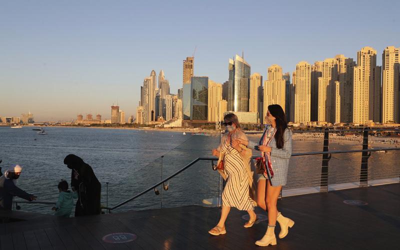 Dubai hút khách nước ngoài dù Covid-19 gia tăng -0