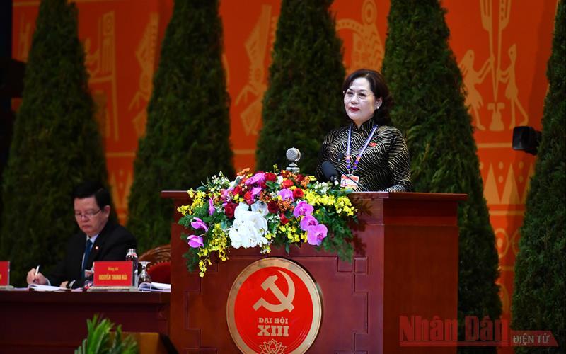 Đại hội XIII của Đảng tiếp tục phiên tham luận tại hội trường -0