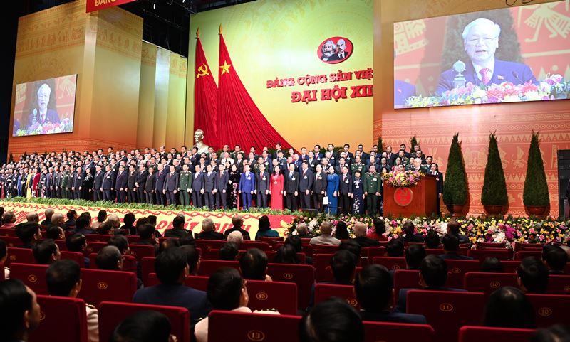 Bế mạc Đại hội lần thứ XIII của Đảng -0
