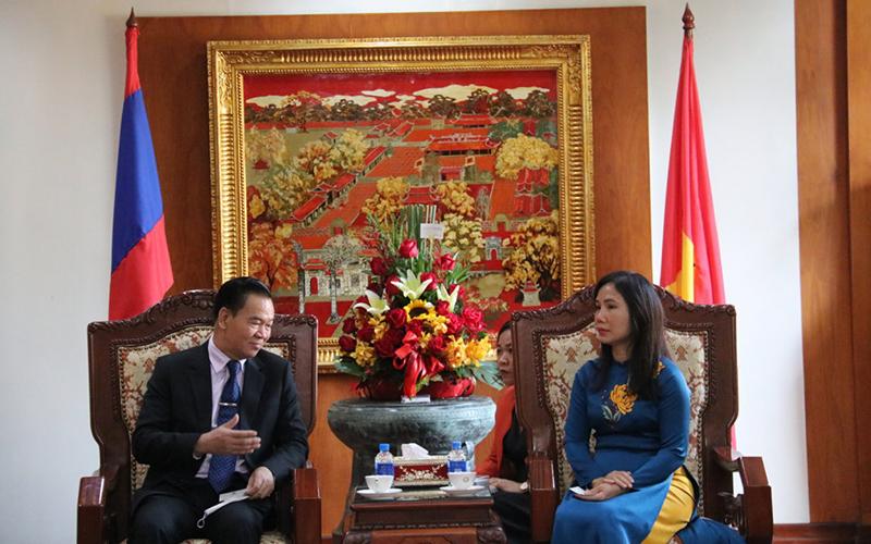 Lào chúc mừng 91 năm Ngày thành lập Đảng Cộng sản Việt Nam -0