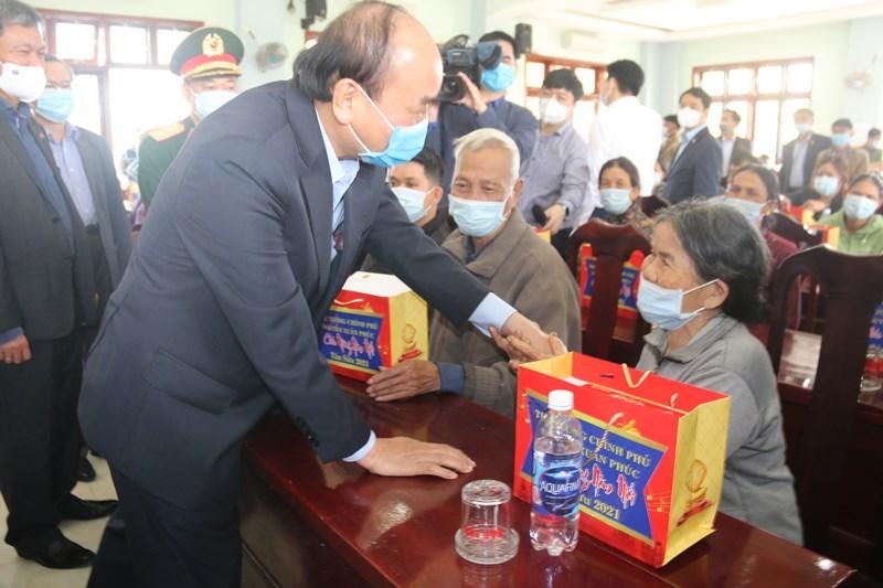 Thủ tướng Nguyễn Xuân Phúc thăm, chúc Tết tại Quảng Nam -0