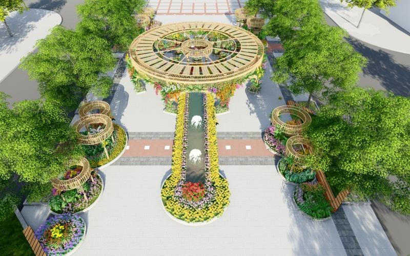 Ấn tượng đường hoa xuân Nguyễn Huệ Tết Tân Sửu -0