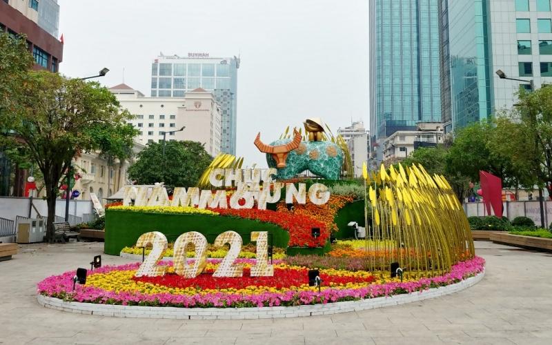 Hủy lễ khai mạc Đường hoa Nguyễn Huệ, Đường sách Tết Tân Sửu 2021