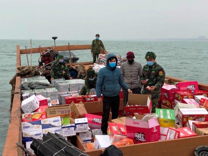 Ngăn chặn buôn lậu và xuất, nhập cảnh trên tuyến biên giới Quảng Ninh -0
