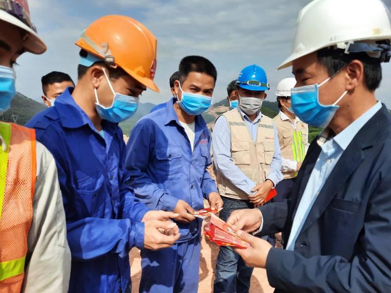 Ra quân thi công dự án cao tốc Cam Lộ - La Sơn -0