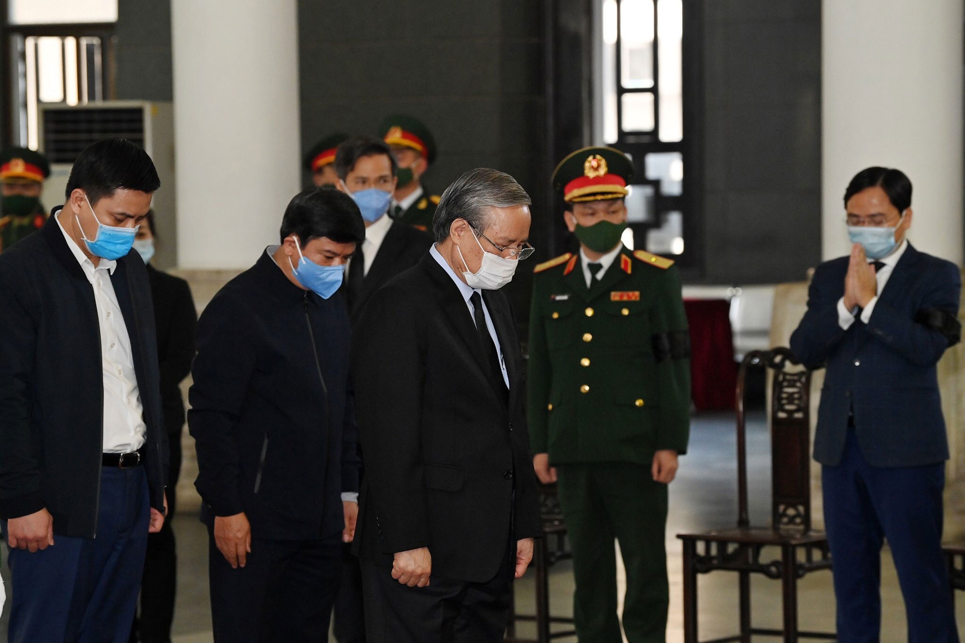 Lãnh đạo Đảng, Nhà nước viếng đồng chí Trương Vĩnh Trọng -0