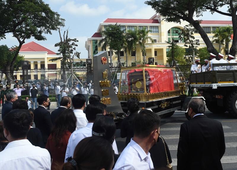 Lễ truy điệu nguyên Phó Thủ tướng Trương Vĩnh Trọng -0