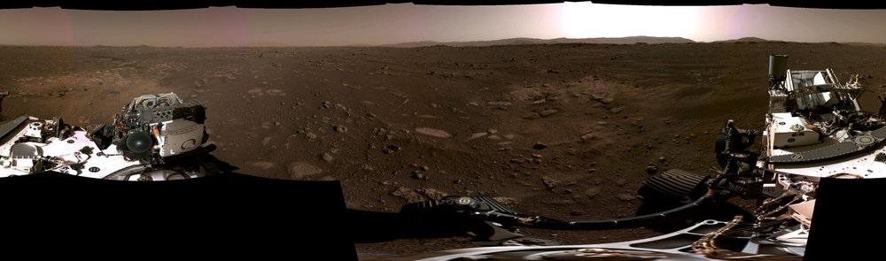NASA công bố đoạn quay tàu vũ trụ hạ cánh trên sao Hỏa -0