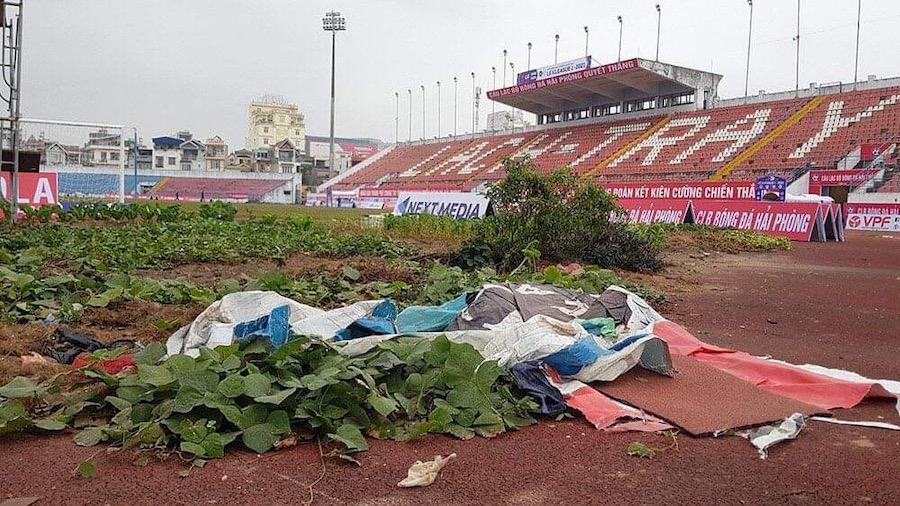 Chất lượng mặt sân ở V-League: Câu chuyện còn đau đáu -0