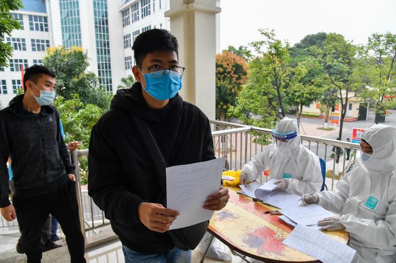 Xét nghiệm SARS-CoV-2 cho thanh niên trước khi nhập ngũ -0