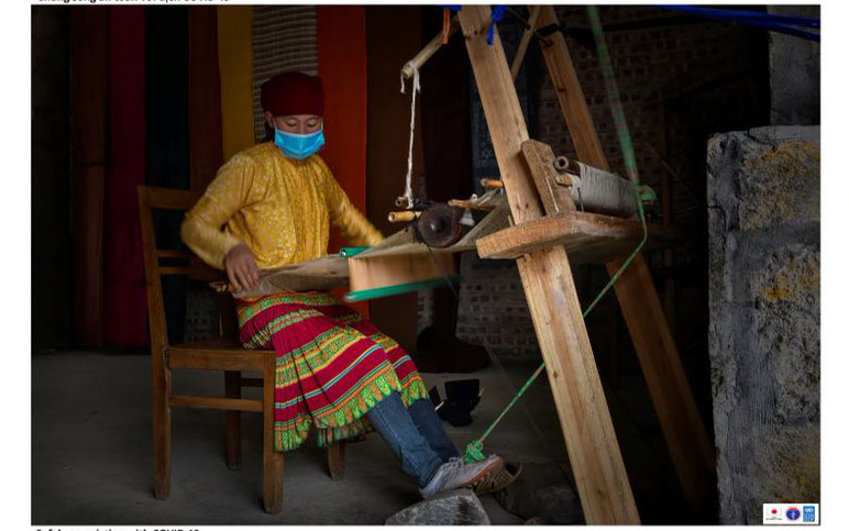 Giới thiệu bộ ảnh đồng bào các dân tộc Hà Giang phòng chống Covid-19, phát triển kinh tế bền vững -0