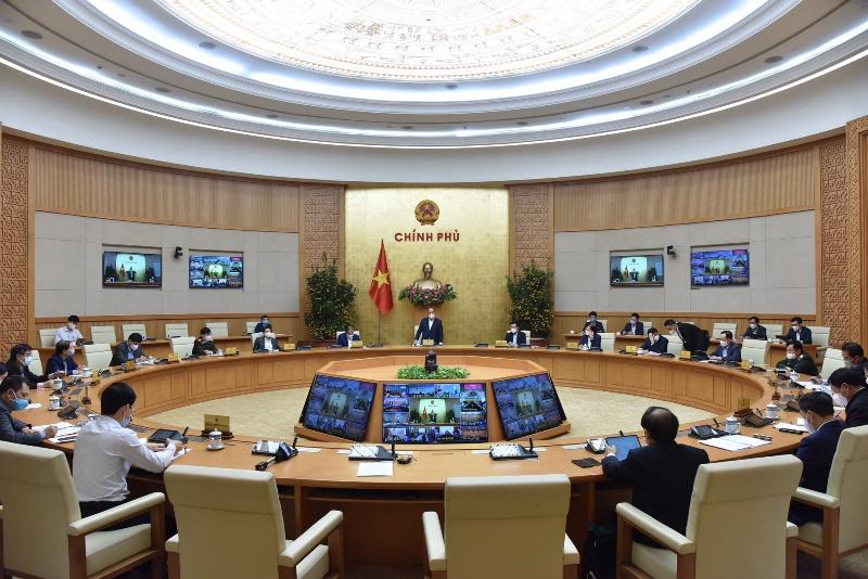 Thường trực Chính phủ họp ứng phó dịch Covid-19 -0