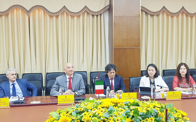 Công ty Năng lượng Eni Việt Nam đồng ý hợp tác với Quảng Trị việc đưa khí từ Kèn Bầu vào bờ -0