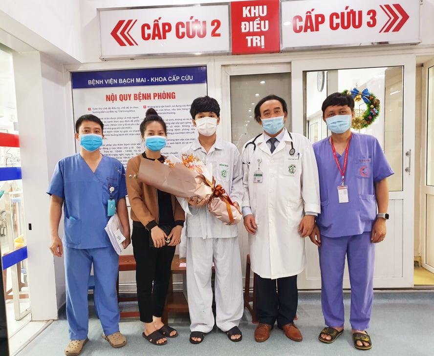 Bệnh nhân ngừng tim, ngừng tuần hoàn được cứu sống ngoạn mục -0