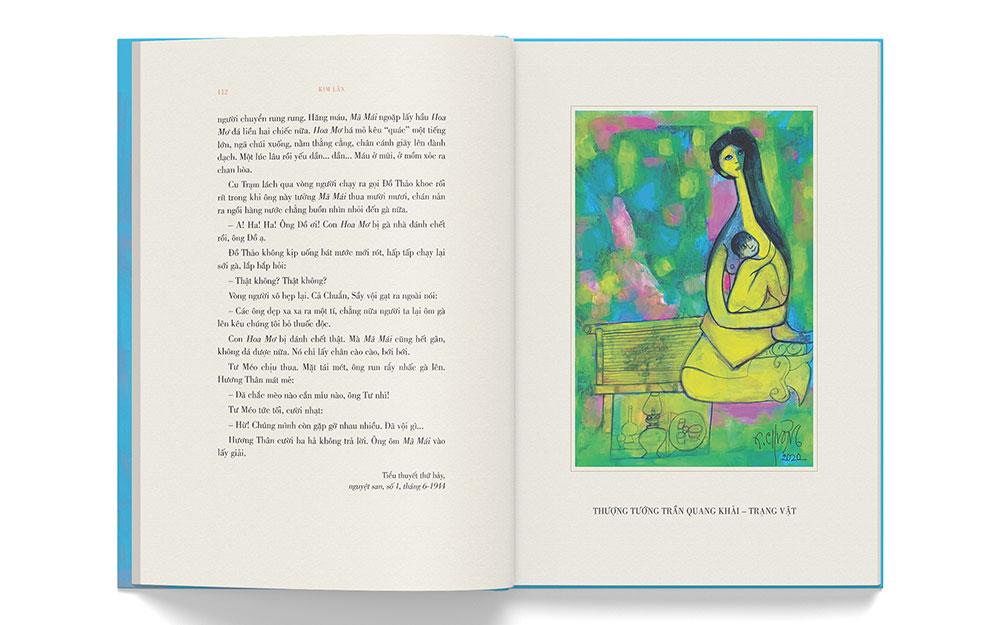 Họa sĩ Thành Chương vẽ minh họa sách của cha -0