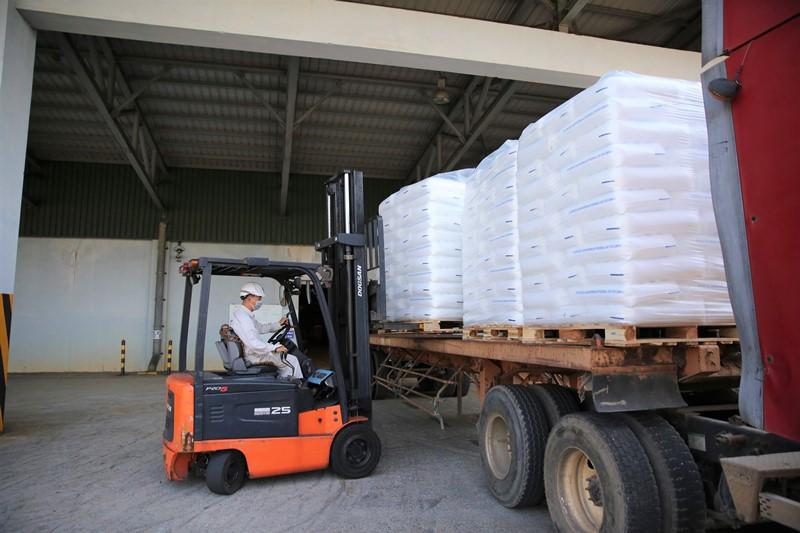 BSR sản xuất và xuất bán sản phẩm hạt nhựa mới T3045 -0