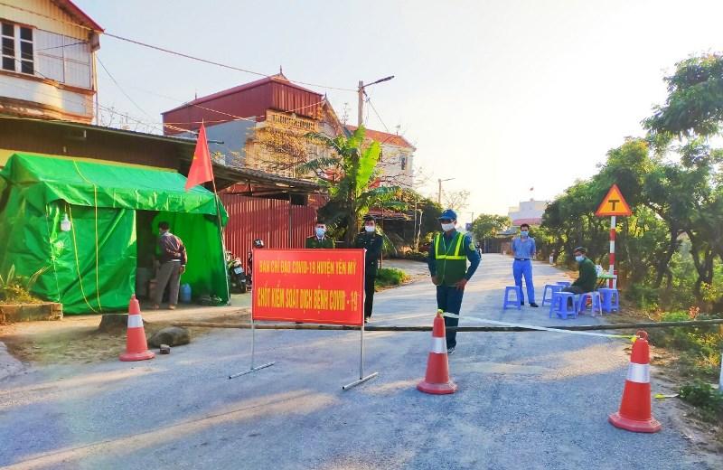 Hưng Yên: Kết thúc giãn cách xã hội tại Yên Mỹ và Khoái Châu -0