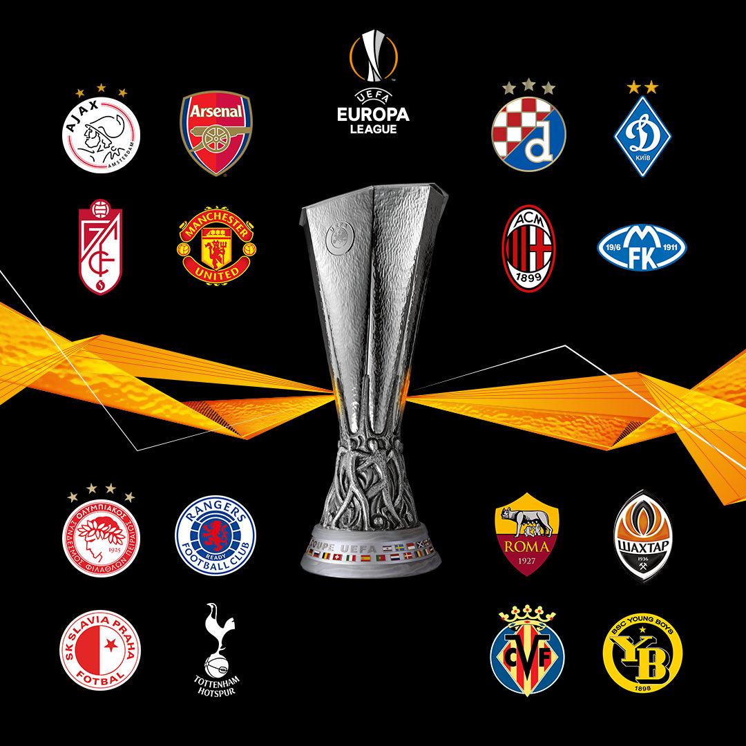 16 đội bóng tiến vào vòng 1/8 Europa League 2020/2021 -0