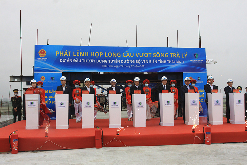 Thái Bình khởi công xây dựng tuyến đường bộ vốn đầu tư hơn 2.500 tỷ đồng -0