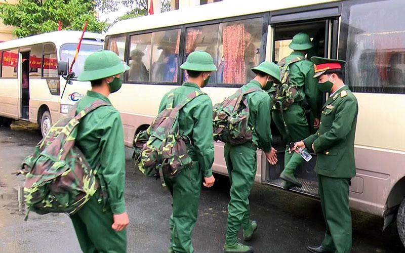 Tuyên Quang: 1.166 tân binh lên đường nhập ngũ năm 2021 (đề nghị ghép) -0