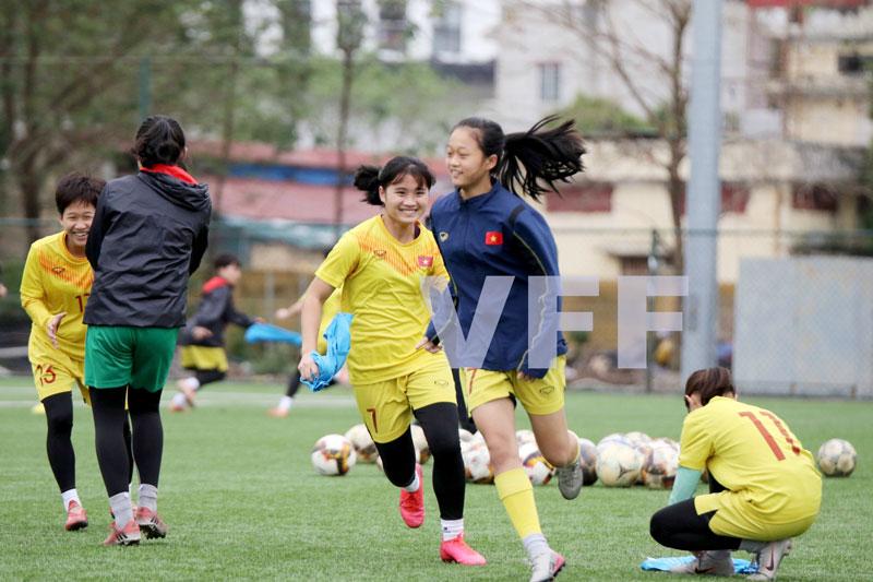 Hai đội Dự tuyển nữ trẻ Quốc gia hội quân trở lại -0