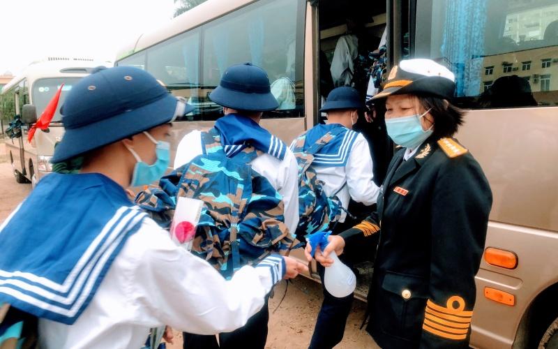 Hải Phòng tổ chức giao quân nhanh, gọn, an toàn (TIN DUYỆT GHÉP) -0