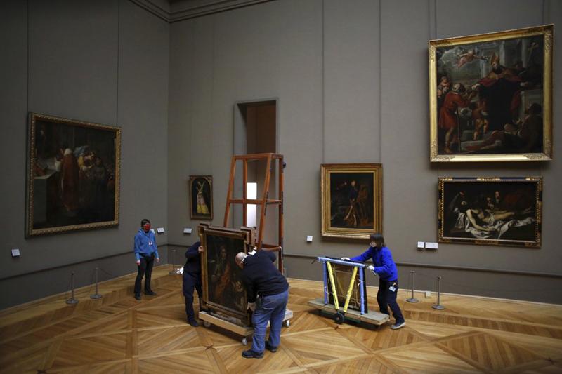 """Bảo tàng Louvre tận dụng """"thời cơ vàng"""" đóng cửa vì Covid-19 -0"""