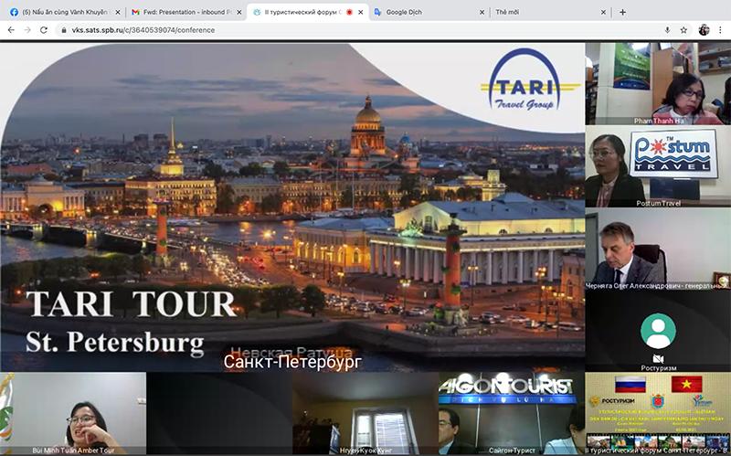 Saint Petersburg tổ chức diễn đàn thúc đẩy du lịch với Việt Nam -0