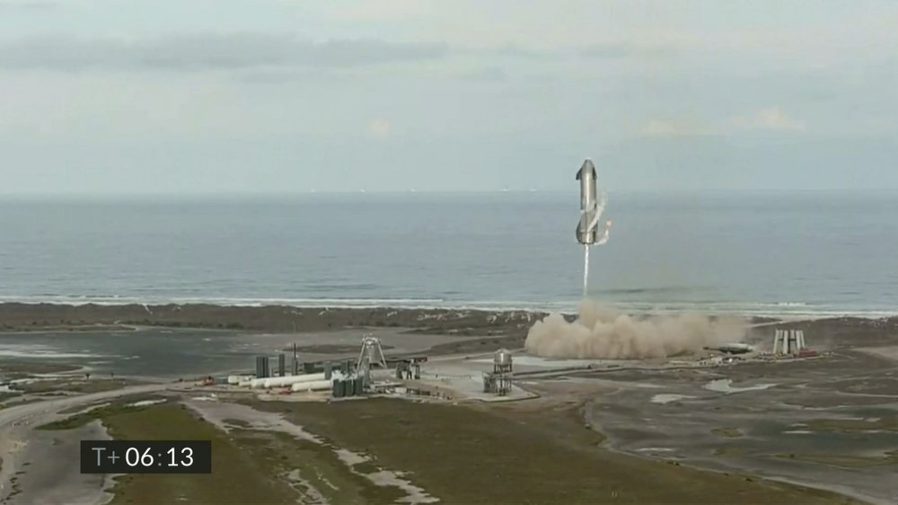 Nguyên mẫu Starship lại phát nổ sau khi hạ cánh thành công -0